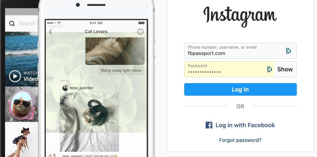 login+instagram+facebook
